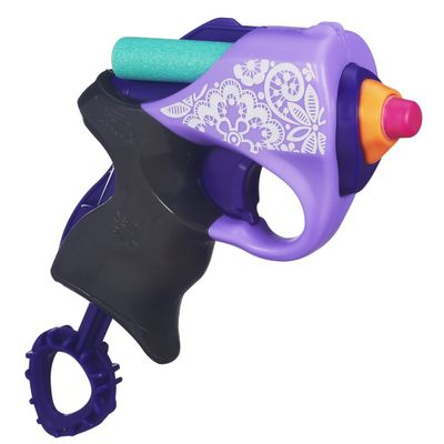 Lançador Nerf Rebelle - Mini Blaster Pretty Paisley - Hasbro