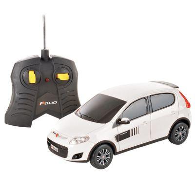 Carrinho-de-Controle-Remoto---Fiat-Novo-Palio-Branco---CKS---P346