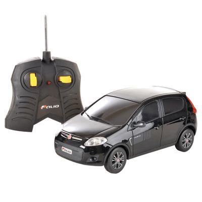 Carrinho-de-Controle-Remoto---Fiat-Novo-Palio-Preto---CKS---P346