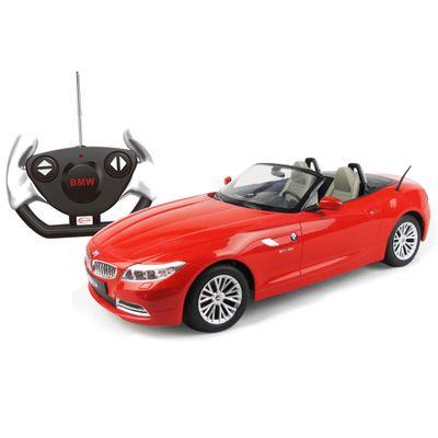 Carrinho-de-Controle-Remoto---BMW-Z4-Vermelha---1-12---CKS---40300
