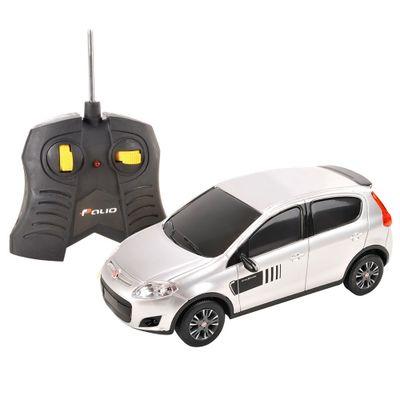 Carrinho-de-Controle-Remoto---Fiat-Novo-Palio-Prata---1-18---CKS---P346