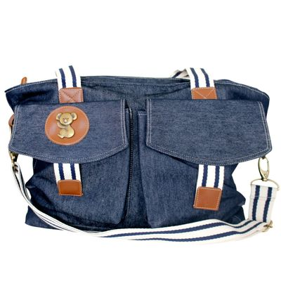 Bolsa-Melbourne---Jeans---Classic-For-Baby-Bags---GBaby