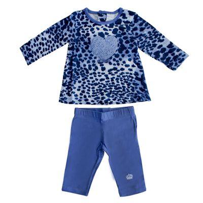 Conjunto-Oncinha-com-Coracao-Azul-Mini-Ninha-Mini-Ninho-GBaby