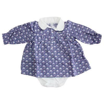 Vestido-Body-Floral-Azul-e-Rosa-Baby-Classic-GBaby