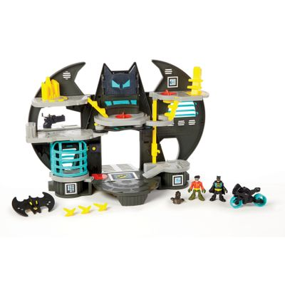 Playset Imaginext - Batcaverna - DC Super Amigos - Fisher-Price