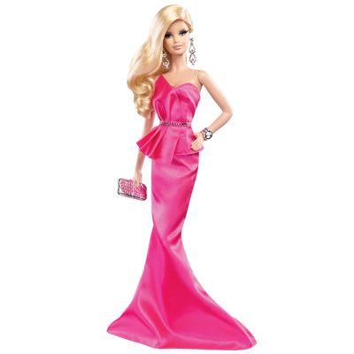 Boneca-Barbie-Colecionavel---Tapete-Vermelho---Pink-Gown---Mattel