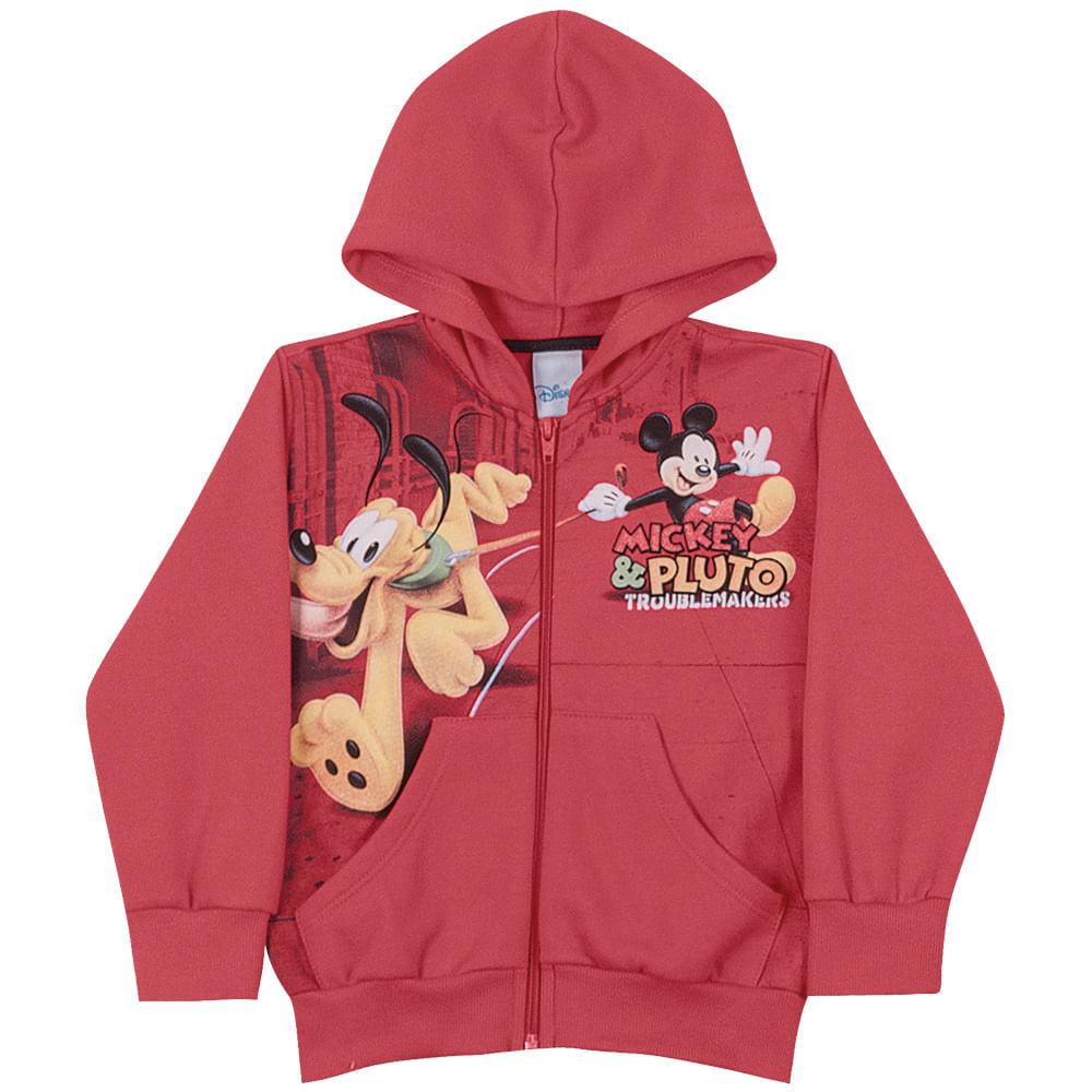 Conjunto Disney Calça e Jaqueta com Capuz - Baby - Laranja - Cativa Conjunto Disney Calça e Jaqueta com Capuz - Baby - Laranja - 1