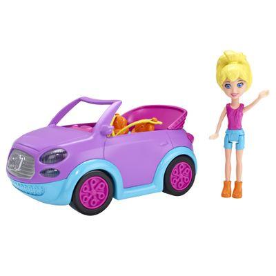 Boneca e Veículo Polly Pocket - Melhor Carro de Todos - Mattel