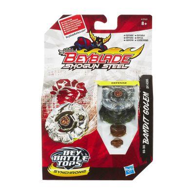 Pião Beyblade - Shogun Steel - Bandit Golem - Hasbro