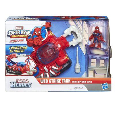 Veículo Tanque com Figura - Homem Aranha - Hasbro - Disney