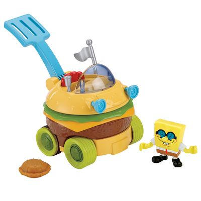 Carro Hamburger Imaginext - Bob Esponja - Fisher-Price