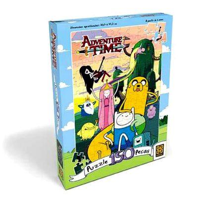 Quebra-Cabeça Adventure Time - 150 peças - Grow