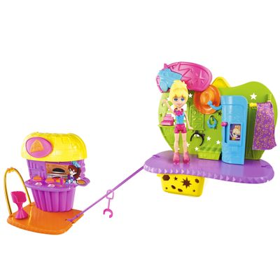 BHX17-Boneca-Polly-Pocket-Pizzaria-Divertida-da-Polly-Mattel