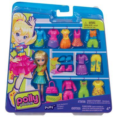 CBW83-Boneca-Polly-Pocket-Conjunto-Dia-Especial-Polly-com-Saia-Mattel