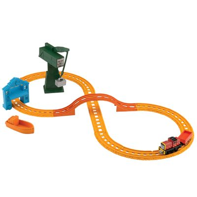 BHR95-Ferrovia-Thomas---Friends-Salty-e-Cranky-Collectible-Railway-Fisher-Price