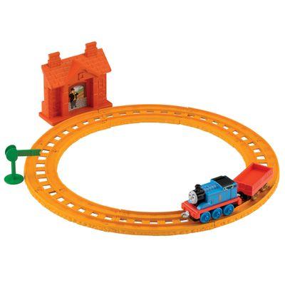 BLN89-Ferrovia-Basica-Thomas---Friends-Thomas-na-Estacao-Collectible-Railway-Fisher-Price