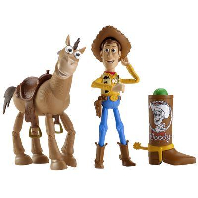 Boneco Toy Story Woody e Bala no Alvo - Mattel - Disney