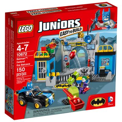 10672 - LEGO Juniors - Batman: Ataque da Batcaverna