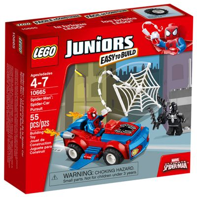 10665 - LEGO Juniors - Spider-Man: Ataque do Carro Aranha