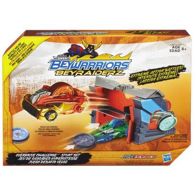 Arena Beyblade Beyraiderz - Beywarriors Overdrive Challenge - Hasbro