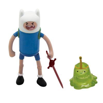 Bonecos-Adventure-Time---Finn-e-Princesa-Geleca---8-cm---Multikids