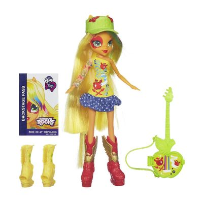 Boneca My Little Pony - Equestria Girls - AppleJack - Hasbro