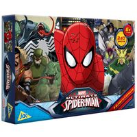 2079-Quebra-Cabeca-Panoramico-Ultimate-Spider-Man-250Pecas-Toyster