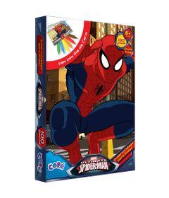 2075-Quebra-Cabeca-para-Pintar-Ultimate-Spider-Man-100Pecas-Toyster