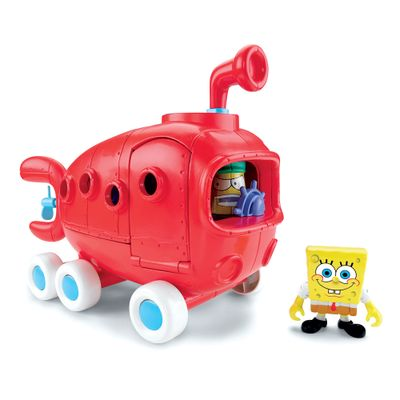 Ônibus da Fenda do Biquini - Bob Esponja - Imaginext - Fisher-Price