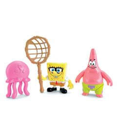 Mini-Figuras-Bob-Esponja---Patrick-e-Bob-Esponja---Imaginext---Fisher-Price