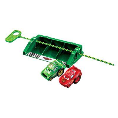 Lancador-Riplash-Racers-Carros-Disney---Relampago-McQueen-e-Chick-Hicks---Mattel