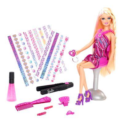 Boneca-Barbie-Tatuagem-de-Cabelo---Mattel