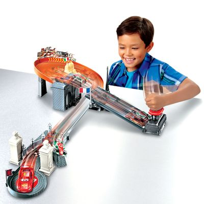 Pista-Rivals-Race-Off-Track-Set-Carros---Disney---Mattel