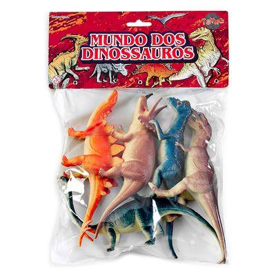 Conjunto-Bichos-em-Miniatura---Mundo-dos-Dinossauros---5-Pecas---Toyng---17755
