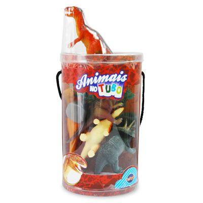 Conjunto-Bichos-em-Miniatura---Dinossauros-no-Tubo---Toyng---23902