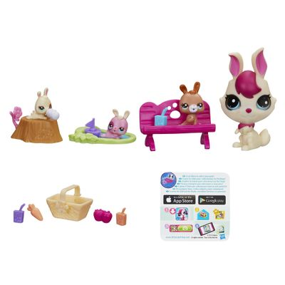 Littlest-Pet-Shop-Movimentos-Magicos-Mommy-and-Bunny-Picnic-Hasbro