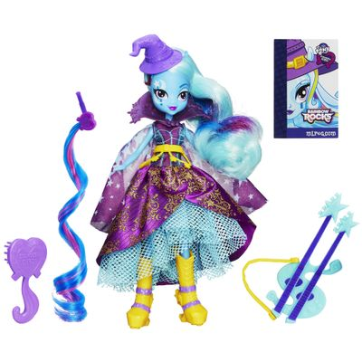 Boneca My Little Pony - Equestria Girls Rainbow Rocks - Trixie Lulamoon - Hasbro