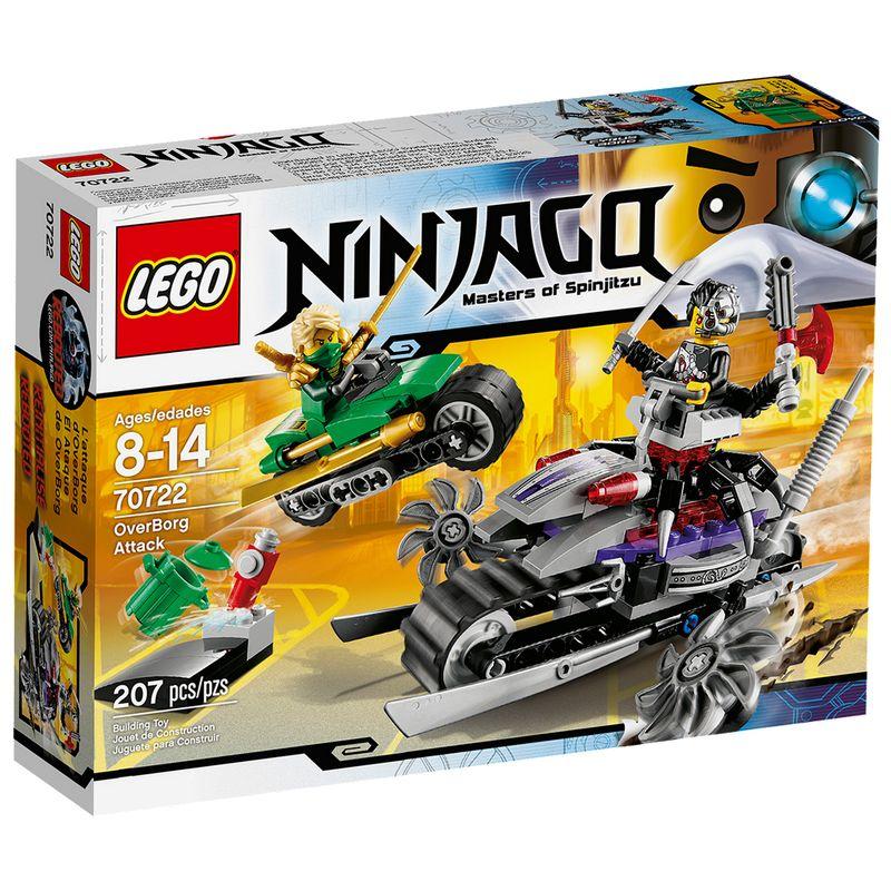 Lego Ninjago tema Ataque OverBorg em promoção
