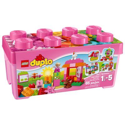 10571---LEGO-Duplo---Tudo-em-um-Conjunto-Cor-de-Rosa