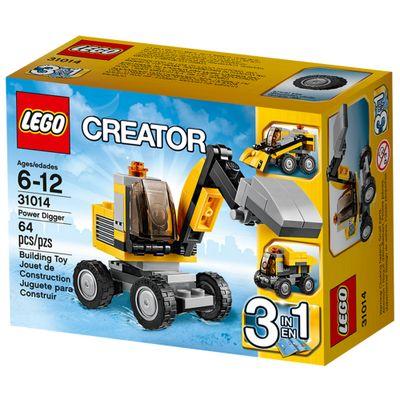 31014---LEGO-Creator---Escavadora-Potente