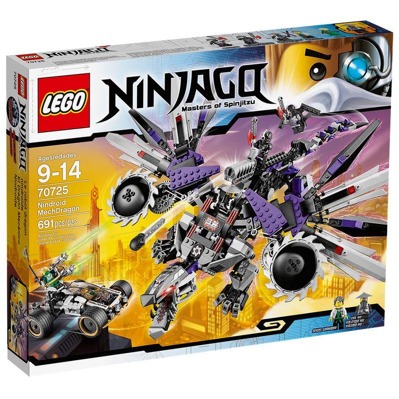 Bloco de montar LEGO modelo Ninjago Nindroid MechDragon