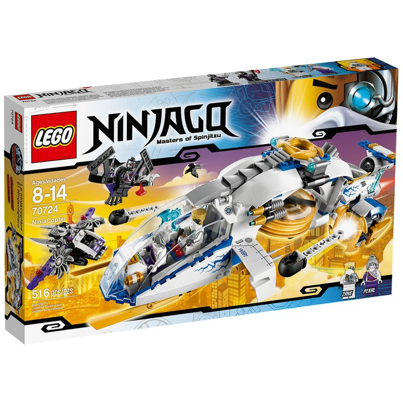 Brinquedo Lego Ninjago Ninja Copter