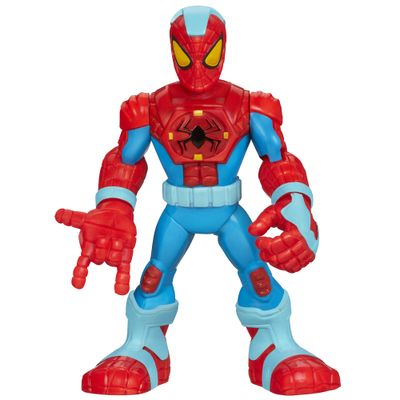 Boneco Playskool Marvel Super Hero - Spider-Man Armadura Blindada - Hasbro