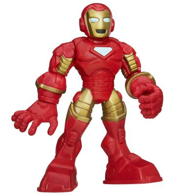 Boneco Playskool Marvel Super Hero - Iron Man - Hasbro - Disney