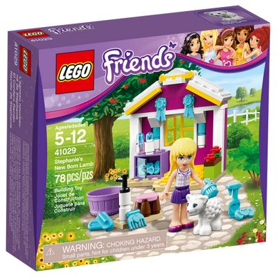 41029---LEGO-Friends---O-Filhote-de-Ovelha-da-Stephanie