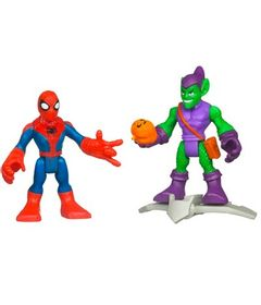 Mini-Bonecos-Marvel-Super-Heroes-Spider-Man-e-Green-Goblin-Hasbro