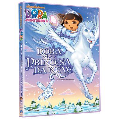 DVD---Dora-A-Aventureira---Dora-Salva-a-Princesa-da-Neve