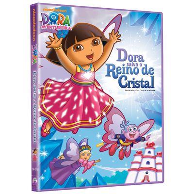 DVD---Dora-A-Aventureira---Salva-o-Reino-de-Cristal