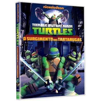 DVD---Tartarugas-Ninjas---O-Surgimento-das-Tartarugas