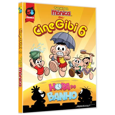 DVD---Turma-da-Monica-em-Cine-Gibi-6---Hora-do-Banho